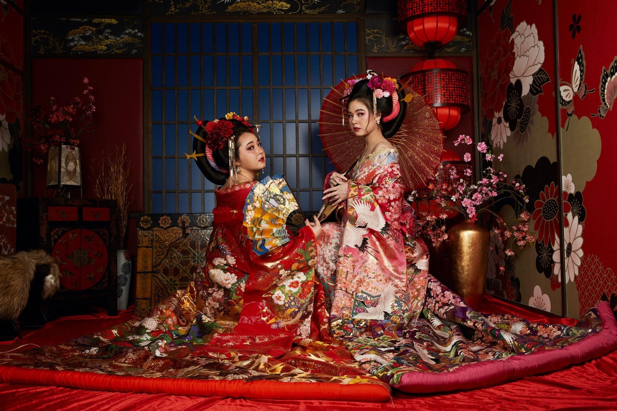 憧れの和の文化が体感できるタイのスーパーフォトスタジオ「姫と侍」リニューアル